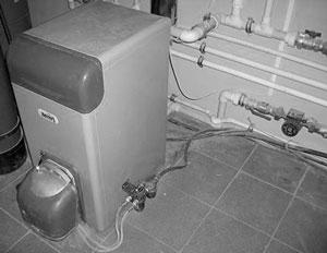 Установка автономного отопления