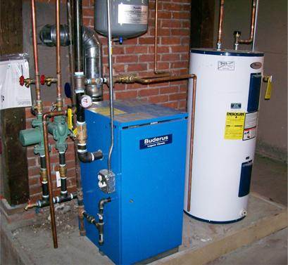 Газовая котельная в подвале частного дома